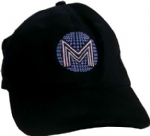 CONFESSIONS TOUR - OFFICIAL BLACK DISCOBALL CAP
